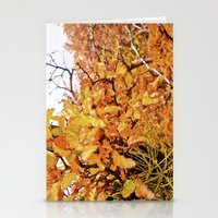 Other orange intense. Stationery Cards