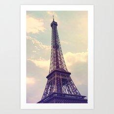 Paris Le Tour Eiffel  Art Print