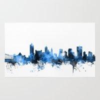 Memphis Tennessee Skylin… Rug