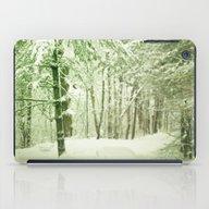 Winter Pine Trees iPad Case