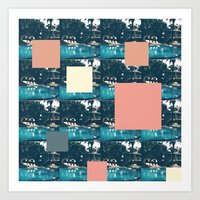 swimming pool 2 Art Print