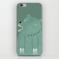 Friendly Bear iPhone & iPod Skin