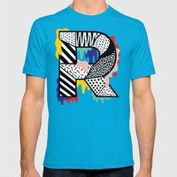 R for ... Mens Fitted Tee Teal SMALL