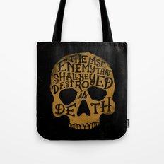 Last Enemy Tote Bag