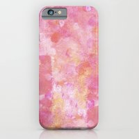 Abstract pink painting iPhone 6 Slim Case