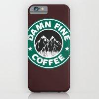 Damn Fine Coffee iPhone 6 Slim Case