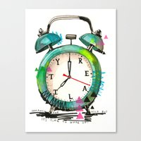 Time To Wake Up! Canvas Print