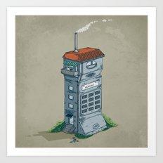 Cordless Home Art Print