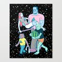 Midnight Parade Canvas Print