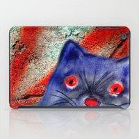 Gordon The Graffiti Cat iPad Case