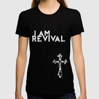 I Am Revival Womens Fitted Tee Black SMALL