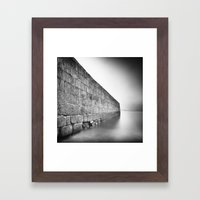 East Wall Framed Art Print