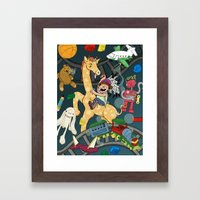 TOYS! Framed Art Print