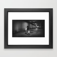 Fall Down 7, Stand Up 8 Framed Art Print