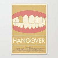 The Hangover Movie Poster  Canvas Print
