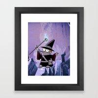 Harold The Evil Necroman… Framed Art Print