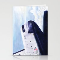 Enterprise Through The C… Stationery Cards