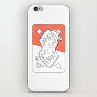 Lion Card iPhone & iPod Skin