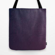 Purple Life Tote Bag