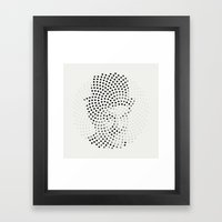 Optical Illusions - Iconical People 1 Framed Art Print