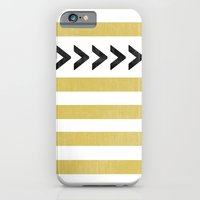 ARROW STRIPE {MUSTARD} iPhone 6 Slim Case