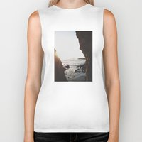 Shell Beach View Biker Tank