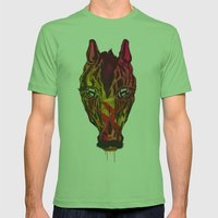 The Horse Mens Fitted Tee Grass SMALL