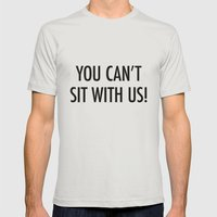 Mean Girls #1 – Sit Mens Fitted Tee Silver SMALL