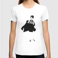 Mod2 Womens Fitted Tee White SMALL
