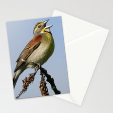 Dickcissel Stationery Cards