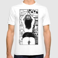 asc 556 - La physiologie du désir (Memento mori) Mens Fitted Tee White SMALL