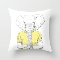 Wild Nothing II Throw Pillow