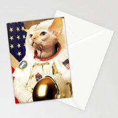 Astronaut Cat Stationery Cards