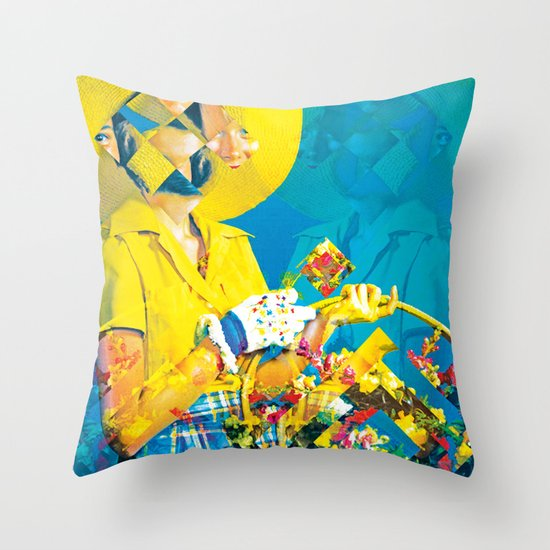 HME & GRDN Throw Pillow