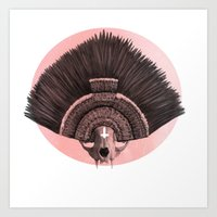 ::headdress:: Art Print