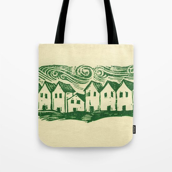 Sad Row Tote Bag
