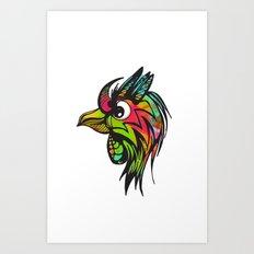 Bird of Prey Art Print
