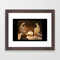 Natività Framed Art Print