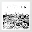 Berlin Art Print