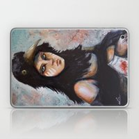 Raven Girl Laptop & iPad Skin