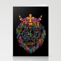 WILD KING Stationery Cards
