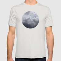 Planetary Bodies - Cloud Mens Fitted Tee Silver SMALL