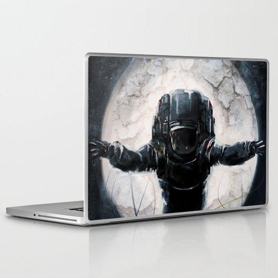 Lunar Figure  Laptop & iPad Skin
