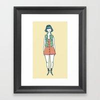 Vanitas Vintage Framed Art Print