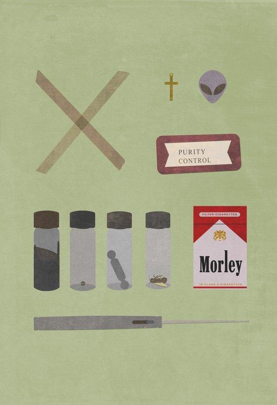 X Files v2 Art Print