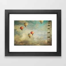 Painting Thoughts Framed Art Print
