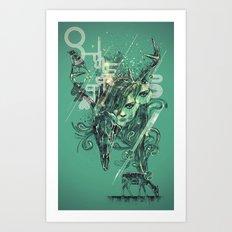 nascent Art Print