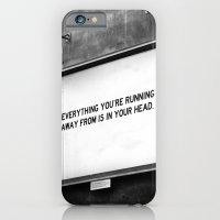 iPhone & iPod Case featuring BILLBOARD FANTASIES #2 by WRDBNR