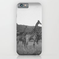 Kaleidoscope of Giraffes iPhone 6 Slim Case