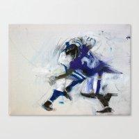 Ed Reed Tackle Canvas Print